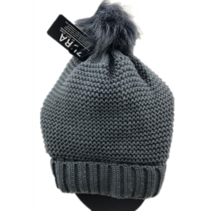 Grey Knitted Hat Gsh46