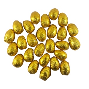 Dark Chocolate Foil Wrapped Easter Egg Baby