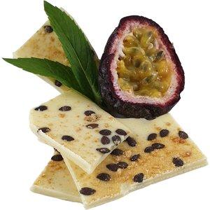 Passionfruit and White Chocolate Bark 100g