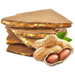 Peanut Brittle coated in Milk Chocolate 100g
