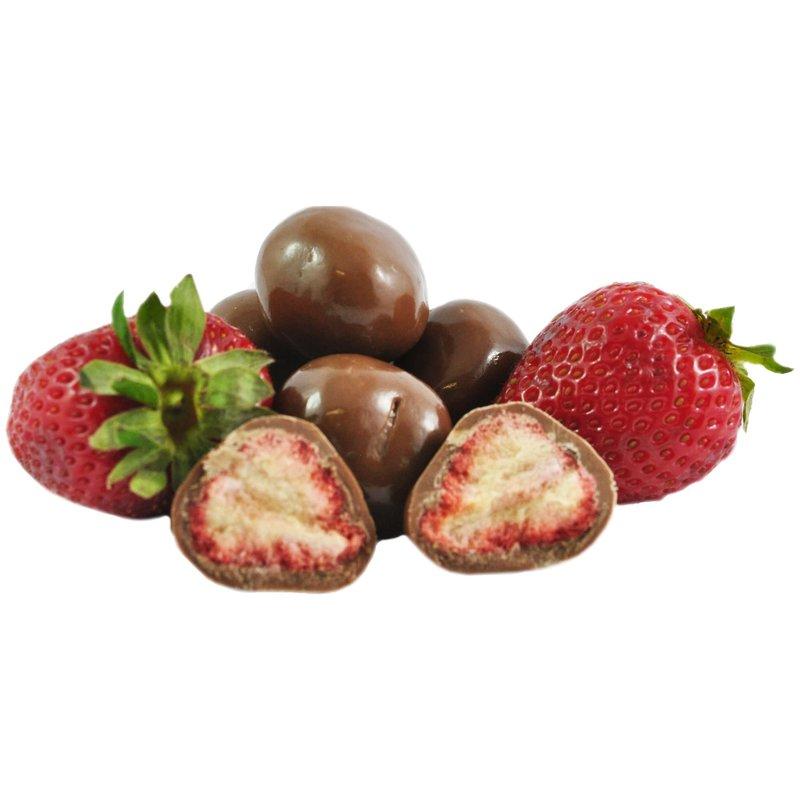 Milk Chocolate coated Freeze dried Strawberries 150g