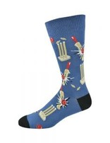 Blue How's That Bamboo Sock R7-11