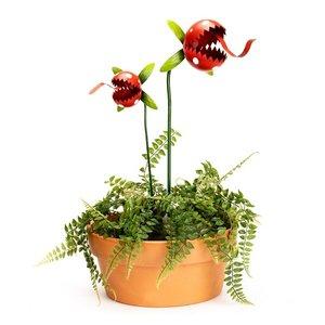 Metal Carnivorous plant Large (RED)