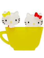 Hello Kitty & Mimmy Brooch