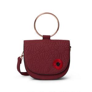Poppy Field Saddle Bag