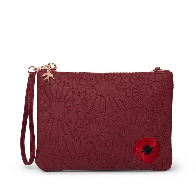 Poppy Field Clutch