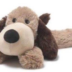 Cozy Gray Puppy Heat Plush Warmies