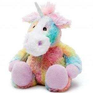Cozy Rainbow Unicorn Heat Plush Warmies