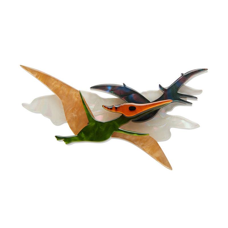 Celine the Pterodactyl Brooch