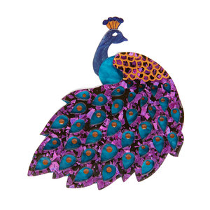 Le Peacock Royal Brooch 2