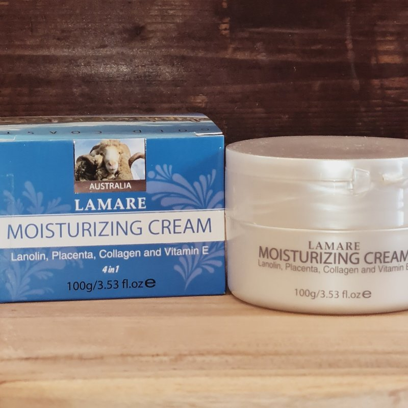 Lamare Moisturising Lanolin and Placenta Creme 100g