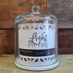 Light My Fire White Apothecary coloured Matches 100