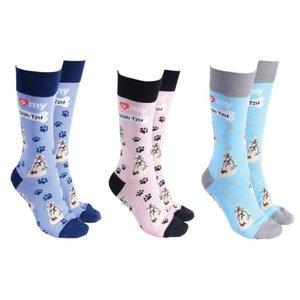 Shih Tzu Dog Society Socks (assorted)
