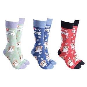 Beagle Dog Society Socks (assorted)