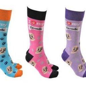 Cavoodle Dog Society Socks (assorted)