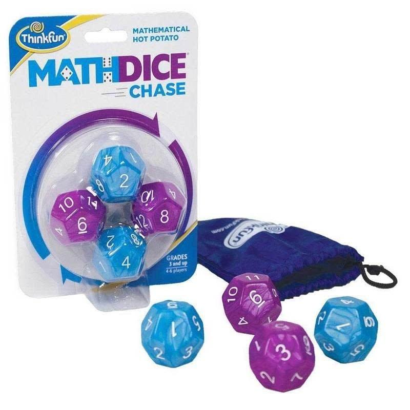 Math Dice Chase-Hot Potato game