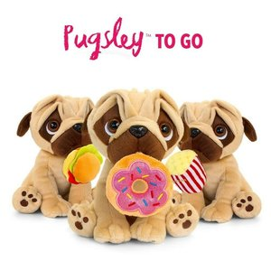 Pugsley To Go 20cm Assort Keel Toys (random selection)