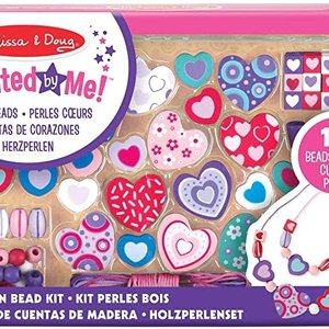 M & D Hearts Bead Set Created By Me