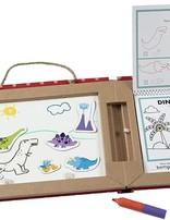 M & D Dinosaurs Play Draw Create