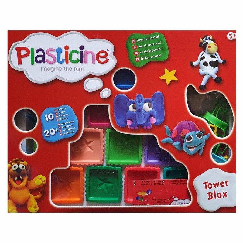 Plasticine Tower Blox