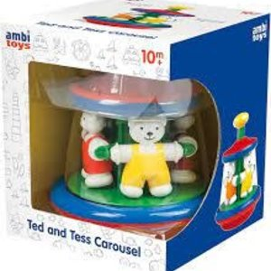 Ambi Toys- Ted And Tess Carousel