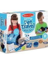 Melissa & Doug - Tote & Tour Pet Travel Playset