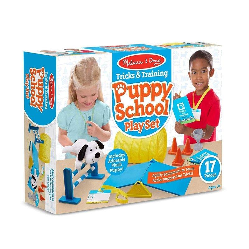 Melissa & Doug - Tricks & Training Puppy School Playset