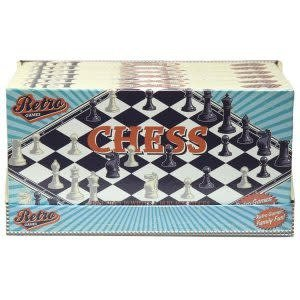 NDO Retro Chess Board Game