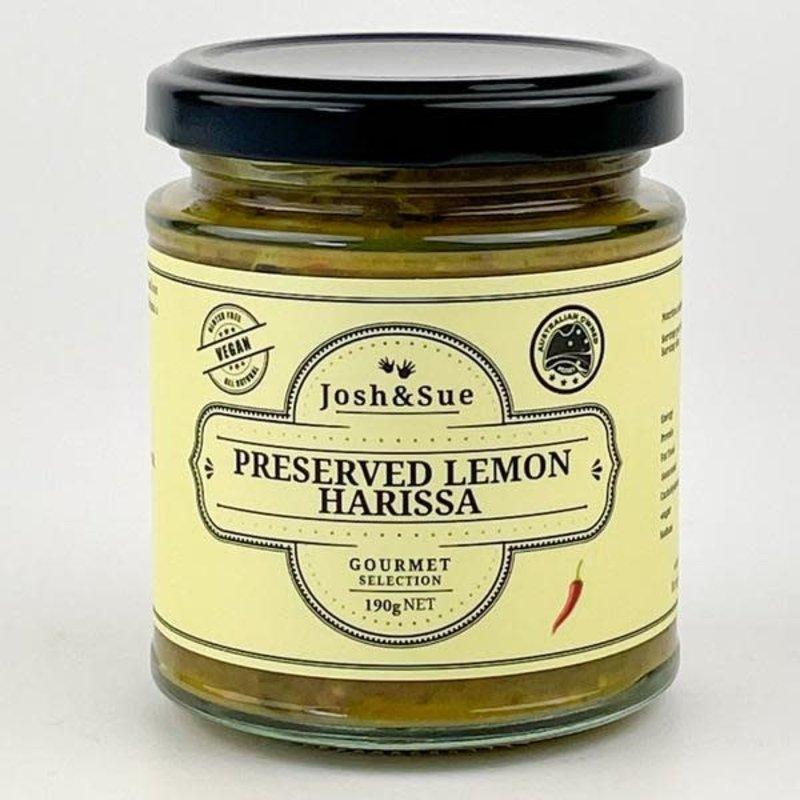 Preserved Lemon Harissa  josh and sue