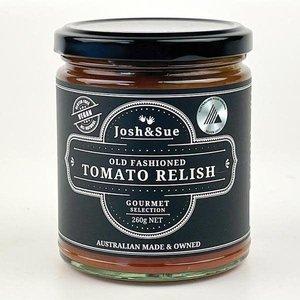 Old Fashioned Tomato Relish Josh and Sue