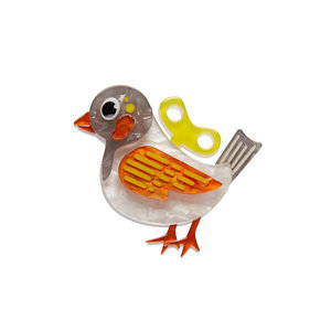 Wind-Up Whimsy Mini Brooch