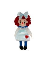Raggedy Annie Mini Brooch