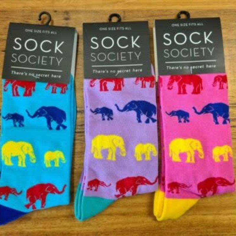 Elephants Sock Society