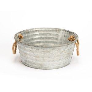 Zinc Tub W/handles