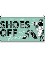 Shoes Off Please -small Hanging