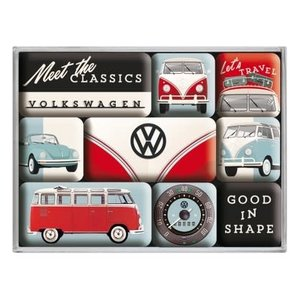 Vw Meet The Classics- Magnet Set