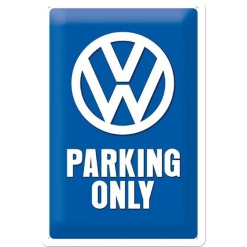 Sign- Vw Parking Only