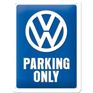 Vw Parking Only -small Sign
