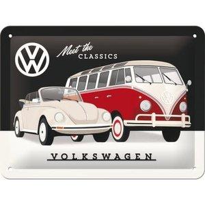 Vw Meet The Classics -small Sign