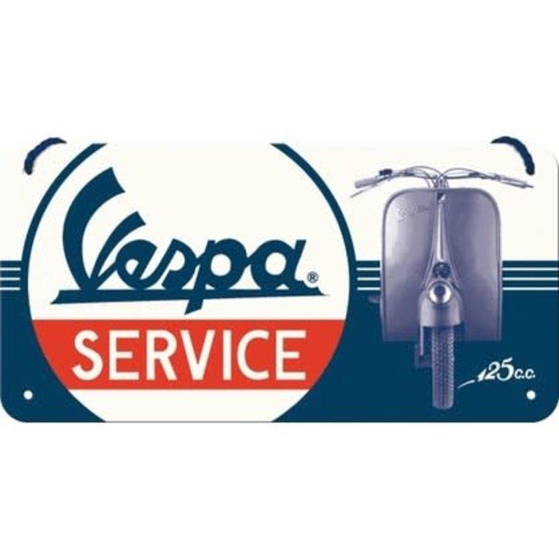 Vespa Service -small Hanging Sign
