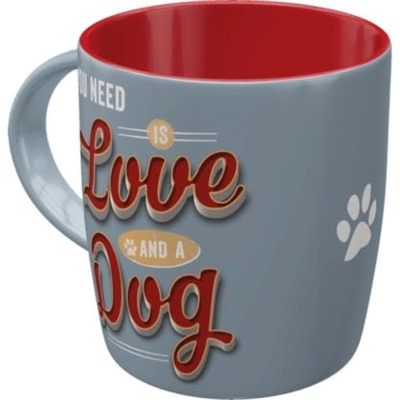 Love Dog -mug