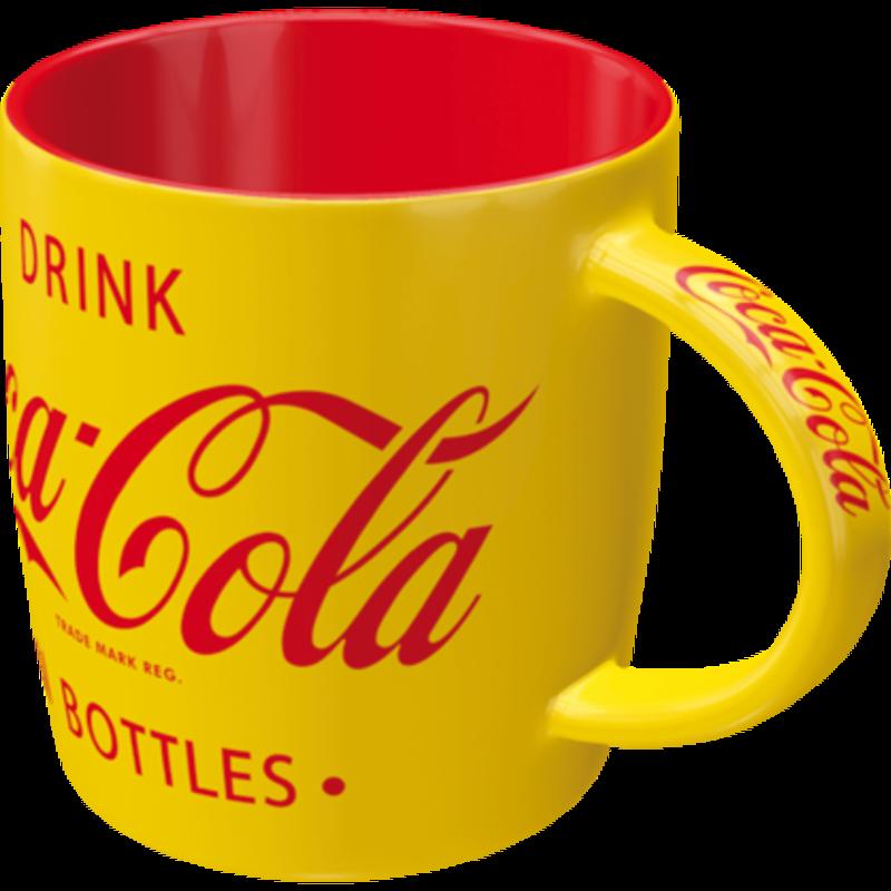 Coca-cola Yellow -mug