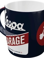 Vespa Garage -mug