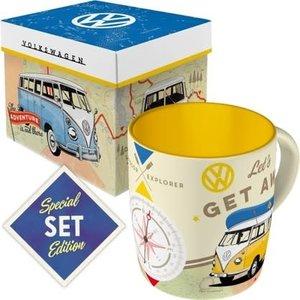 Kombi Lets Get Away -mug & Gift Combo
