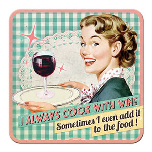 Cook With wine- Coaster