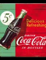Coke Refreshing Green- Coaster