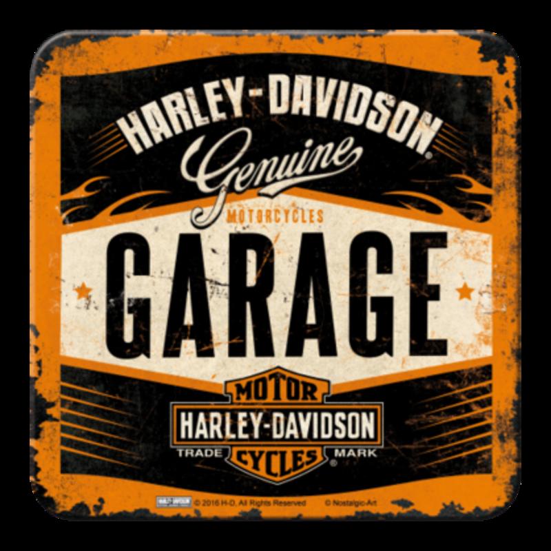 Harley Garage- Coaster