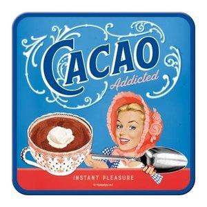 Cacoa Addicted- Coaster