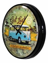 Vw Get Lost- Wall Clock