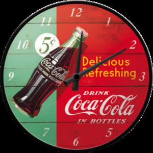 Coca-cola Red/green- Wall Clock